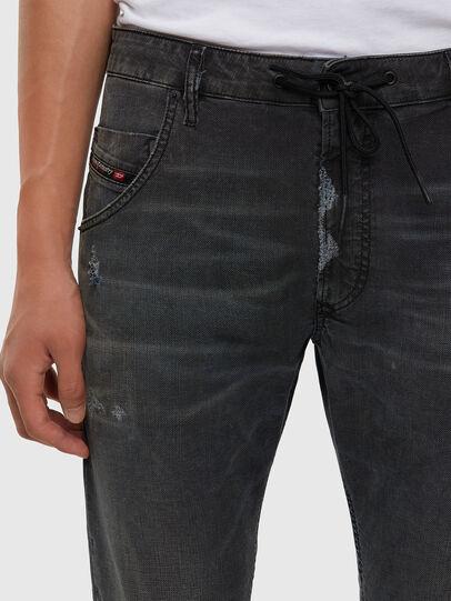 Diesel - KROOLEY JoggJeans® 009LB, Black/Dark grey - Jeans - Image 5