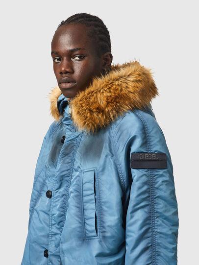 Diesel - W-CLAUD, Blue - Winter Jackets - Image 5