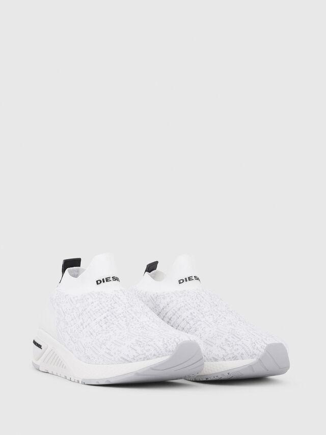 Diesel - S-KB ATHL SOCK, White - Sneakers - Image 2