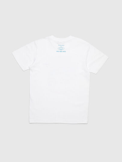 Diesel - TJUSTYC, White - T-shirts and Tops - Image 3