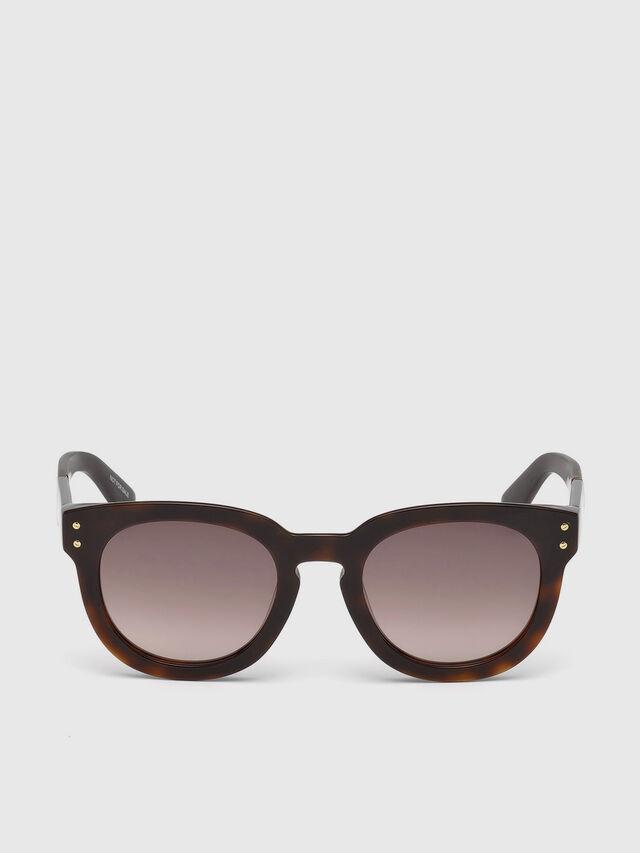 Diesel - DL0230, Brown/Black - Sunglasses - Image 1