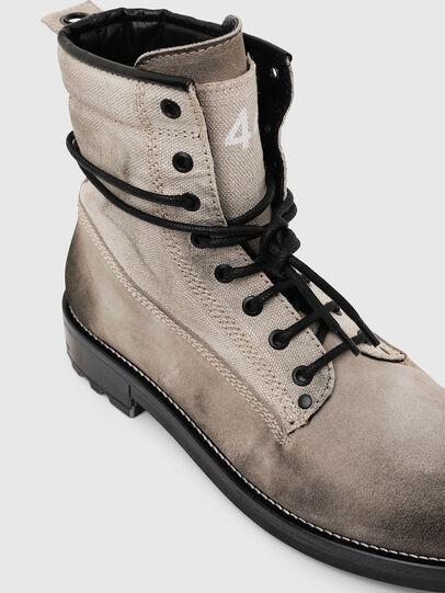 Diesel - D-THROUPER DBB, Grey - Boots - Image 4