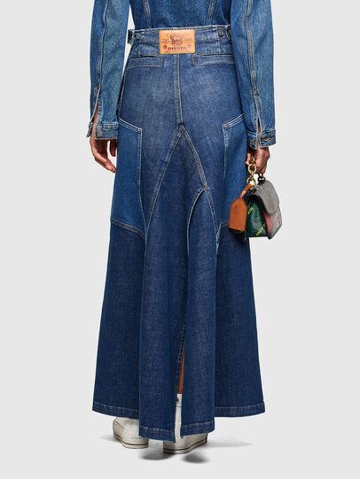 Diesel - DE-PEN, Medium blue - Skirts - Image 2