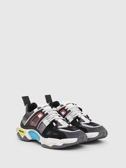 Diesel - S-KIPPER LOW TREK II, Grey/White - Sneakers - Image 2