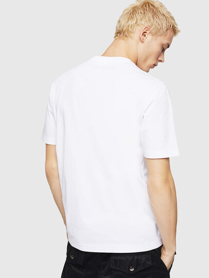 Diesel - T-JUST-DIVISION-D, White - T-Shirts - Image 2