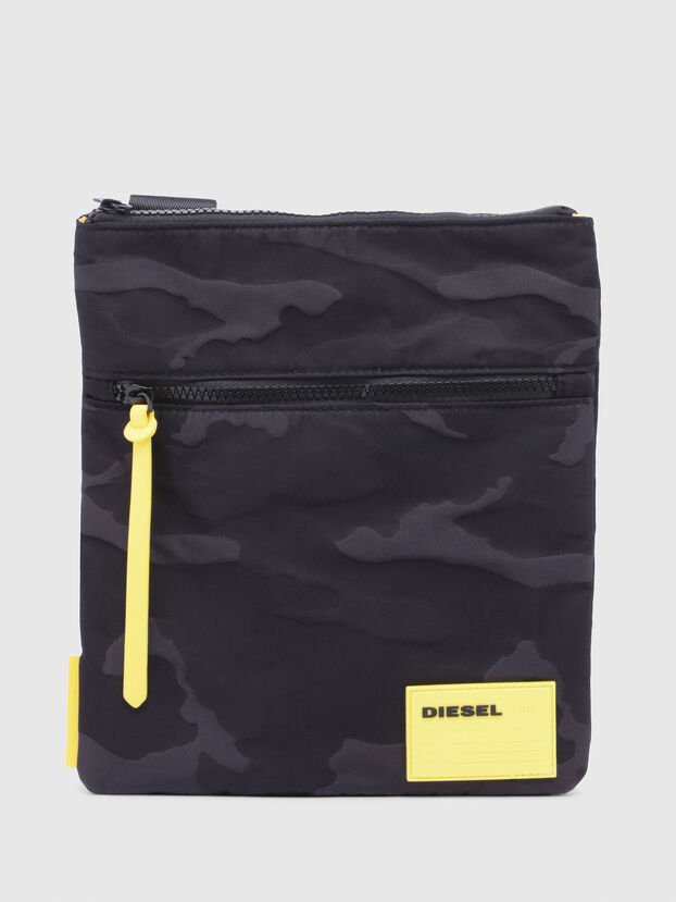 F-DISCOVER CROSS, Black/Yellow - Crossbody Bags