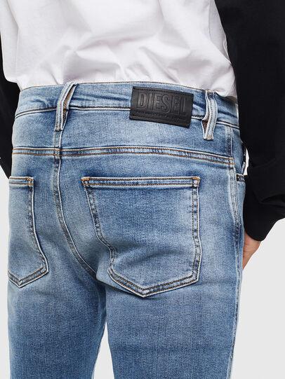 Diesel - D-Istort 009BG, Medium blue - Jeans - Image 4