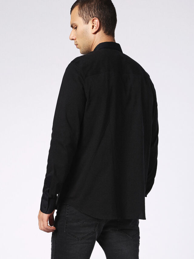 DVL-SHIRT-MALE-RE, Black