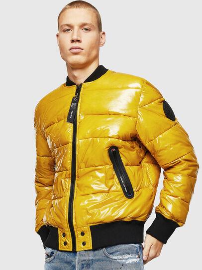 Diesel - W-ON, Yellow - Winter Jackets - Image 1