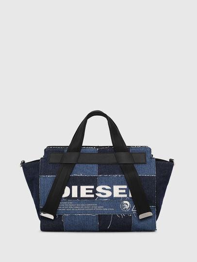 Diesel - F-CAORLY SATCHEL M, Blue - Satchels and Handbags - Image 1