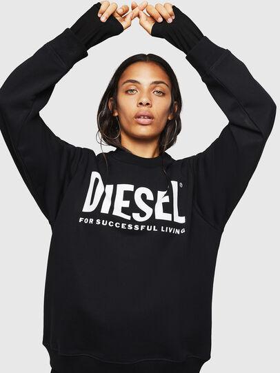 Diesel - F-ANG, Black - Sweaters - Image 1