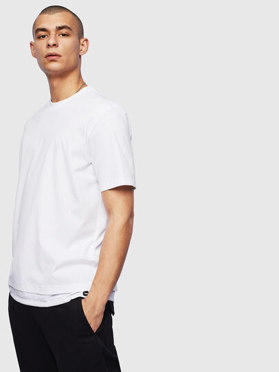 Diesel - T-GLASSY, White - T-Shirts - Image 1