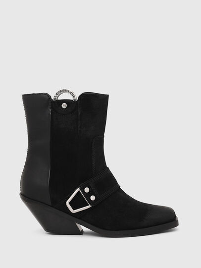 Diesel - D-GIUDECCA MAR, Black - Ankle Boots - Image 1