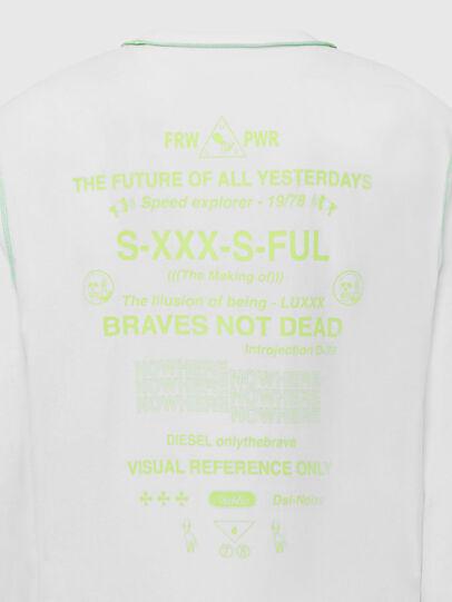 Diesel - T-JUSEAM-LS, White - T-Shirts - Image 5
