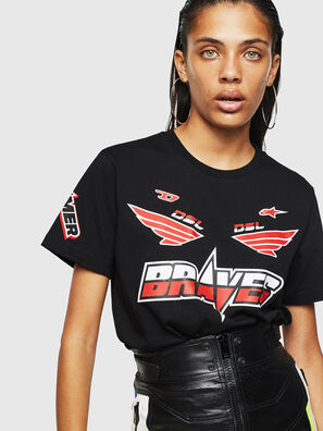 ASTARS-T-DIEGO-FL, Black - T-Shirts