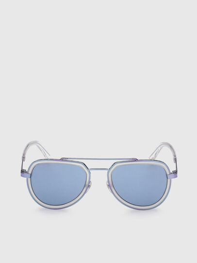 Diesel - DL0266, Blue - Sunglasses - Image 1