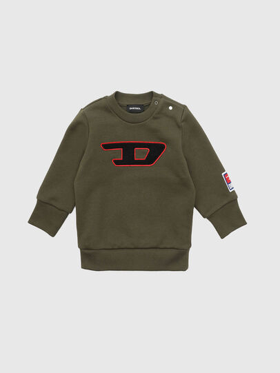 Diesel - SCREWDIVISIONB-D, Military Green - Sweaters - Image 1