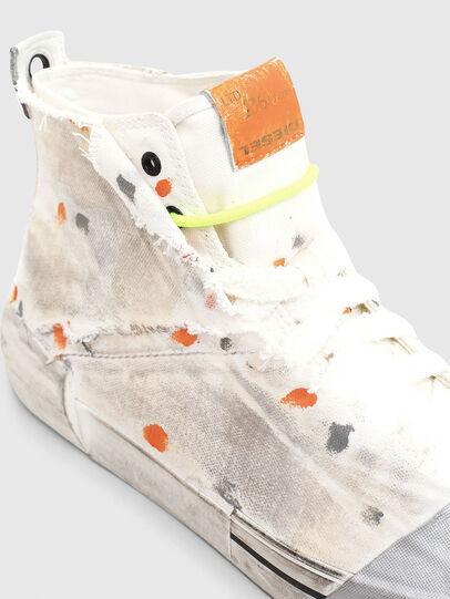 Diesel - S-DESE SCT, White/Orange - Sneakers - Image 4
