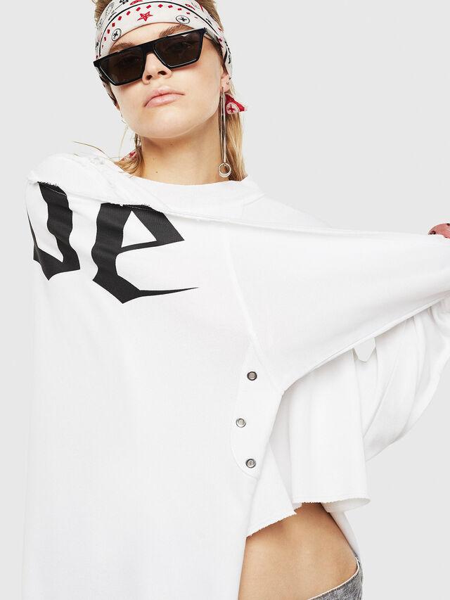 Diesel - F-ZOIE, White - Sweaters - Image 4