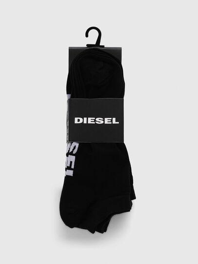 Diesel - SKM-GOST-THREEPACK, Black - Socks - Image 2