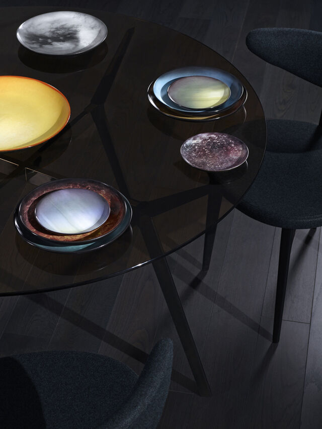 Living 10821 COSMIC DINER, Brown - Plates - Image 2
