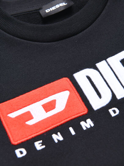 Diesel - SCREWDIVISION OVER, Black - Sweaters - Image 3