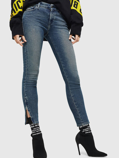 Diesel - Slandy Zip 083AL, Medium blue - Jeans - Image 4