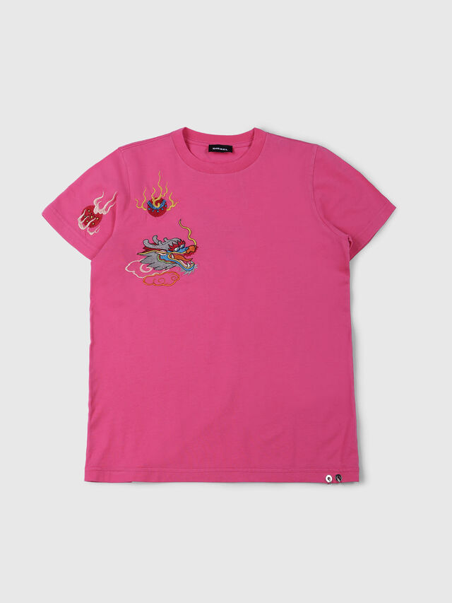 Diesel - TDARIA, Pink - T-shirts and Tops - Image 1