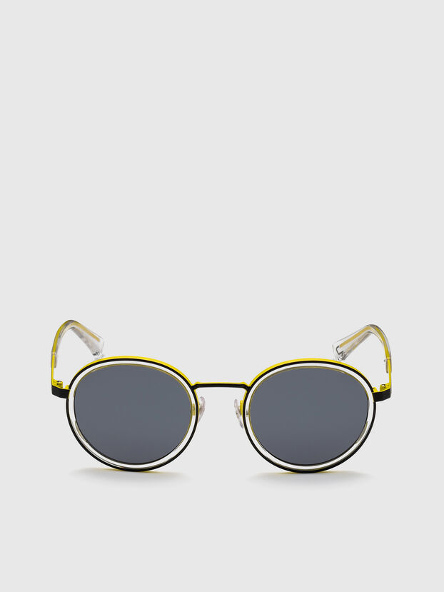 DL0321, Black/Yellow - Sunglasses