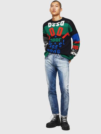 Diesel - Thommer JoggJeans 0870N, Medium blue - Jeans - Image 6