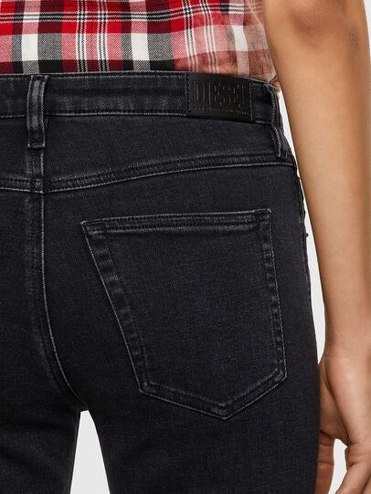 Diesel - Babhila 0870G, Black/Dark grey - Jeans - Image 4