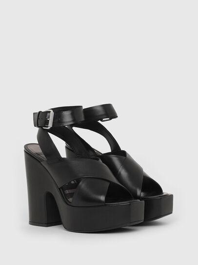 Diesel - SA-JULIA, Black - Sandals - Image 2