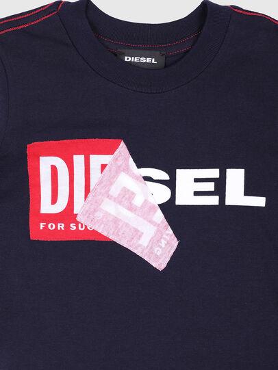 Diesel - TOQUEB MC-R, Black - T-shirts and Tops - Image 3