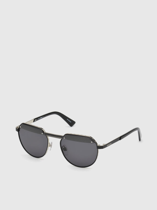Diesel - DL0260, Black - Sunglasses - Image 2