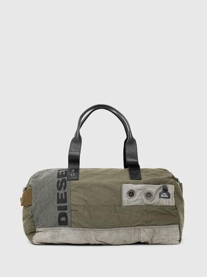 Diesel - D-THISBAG TRAVEL BAG, Olive Green - Travel Bags - Image 1