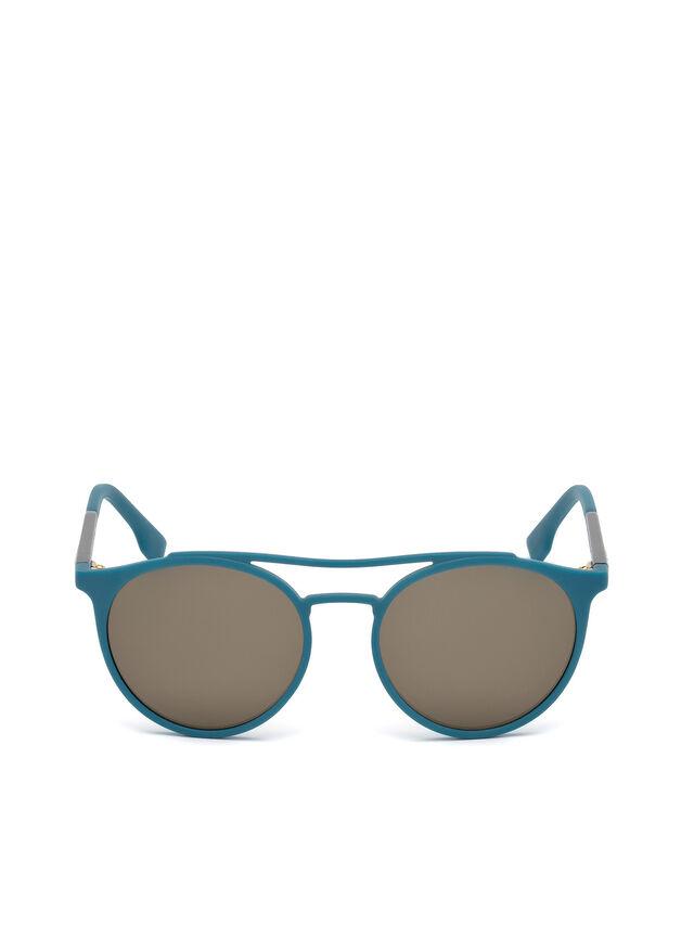 Diesel - DM0195, Blue - Eyewear - Image 1