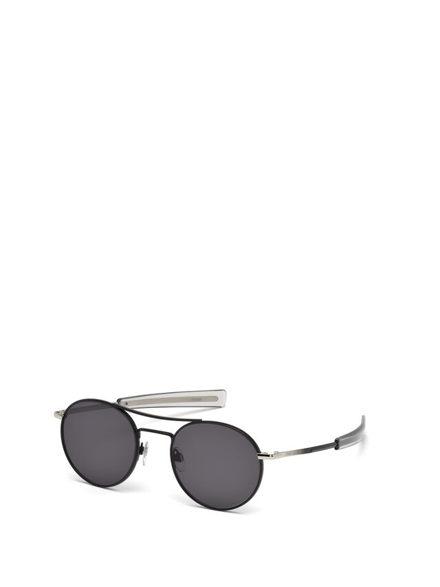 Diesel - DL0220, Black - Sunglasses - Image 4