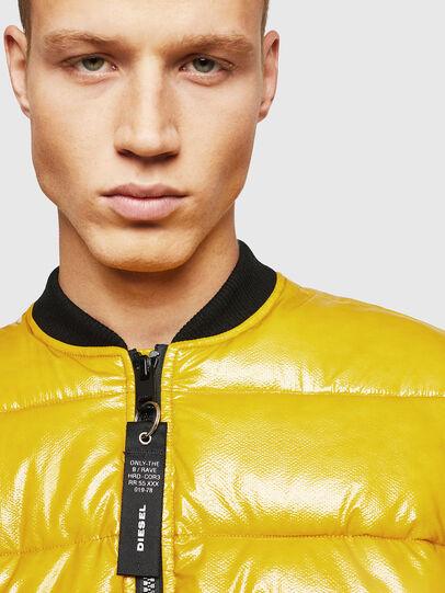Diesel - W-ON, Yellow - Winter Jackets - Image 3