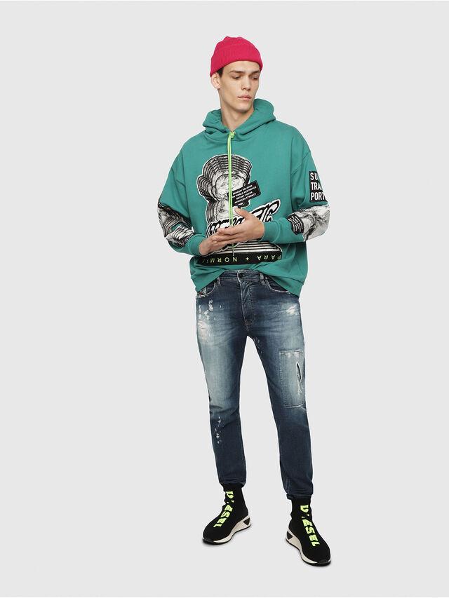 Diesel - S-KB MID ATHL SOCK, Black - Sneakers - Image 6