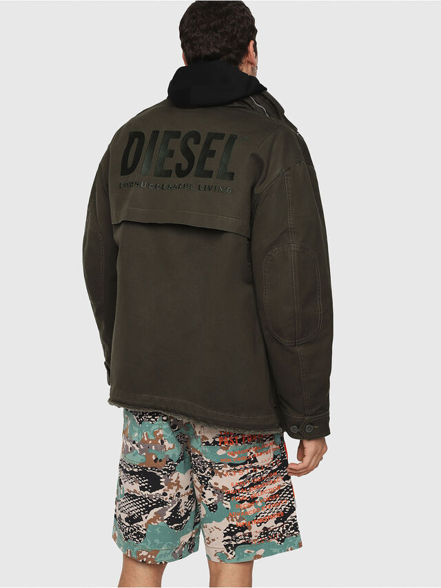 Diesel - J-TOUCHA, Military Green - Jackets - Image 2