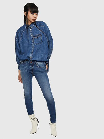 Diesel - Slandy Low 083AN, Medium blue - Jeans - Image 6