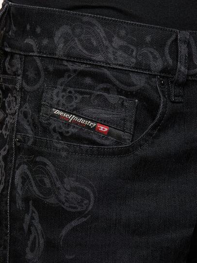Diesel - D-Strukt 009KT, Black/Dark grey - Jeans - Image 4