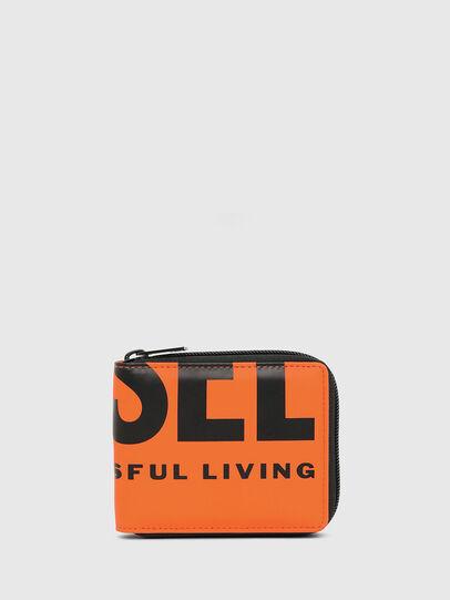 Diesel - ZIPPY HIRESH S, Orange - Zip-Round Wallets - Image 1