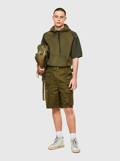 Diesel - P-CYAN-SHORT, Military Green - Shorts - Image 5