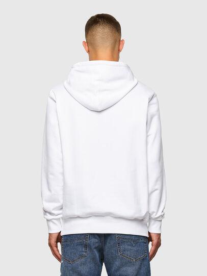 Diesel - S-GIRK-HOOD-CUTY, White - Sweaters - Image 5