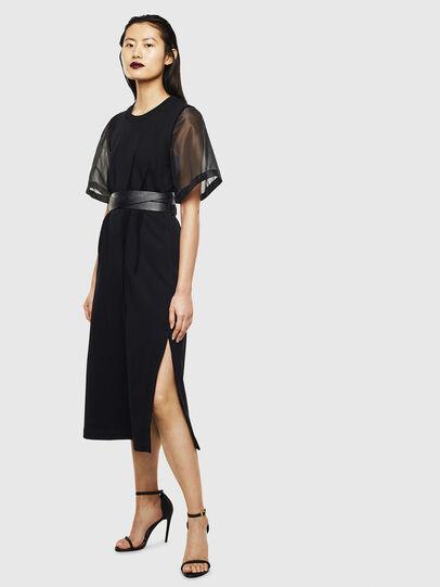 Diesel - D-GOLD, Black - Dresses - Image 7