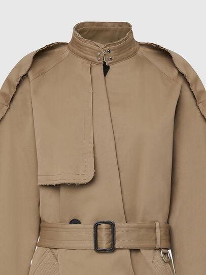 Diesel - G-BERYL, Light Brown - Jackets - Image 4