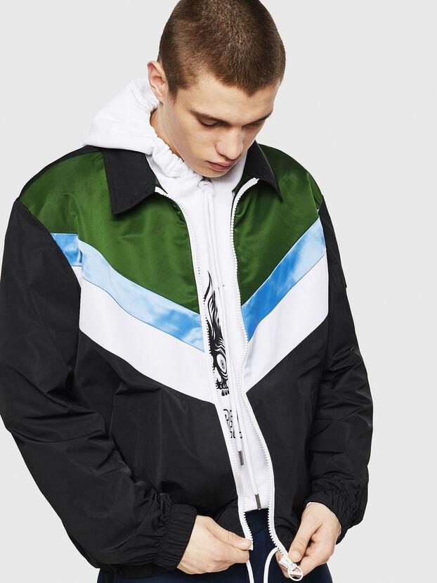 J-LISOV, Black/Green - Jackets