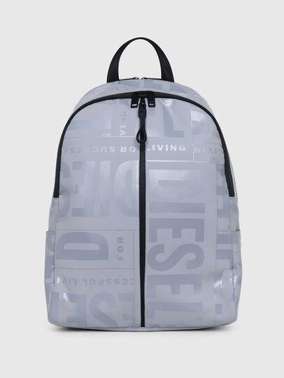 Diesel - X-BOLD BACK, Grey - Backpacks - Image 1