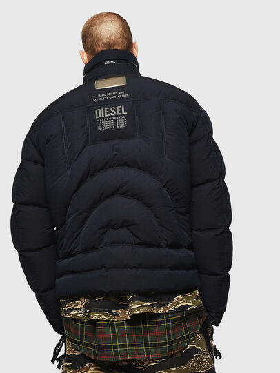 Diesel - W-PETR, Black - Winter Jackets - Image 2